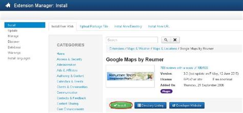 tutorial joomla plugin joomla extensions manager