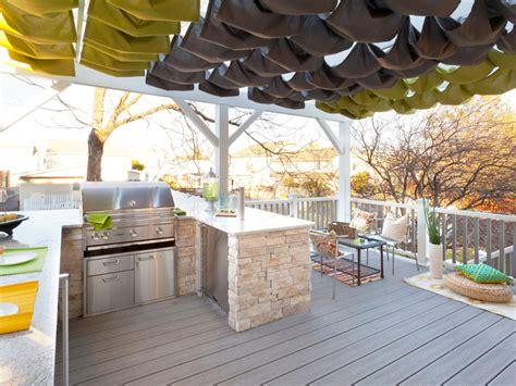 pergola outdoor kitchen photos hgtv