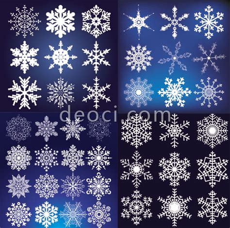 snowflake pattern illustrator free 43 exquisite vector snowflake christmas design