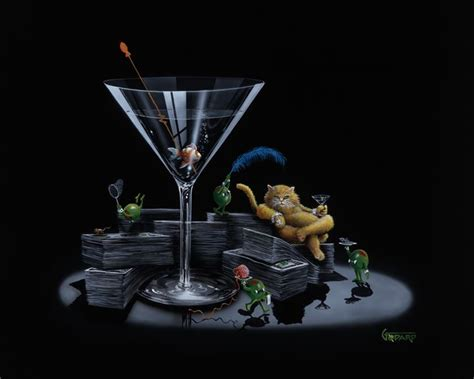 martini artist 17 best images about michael godard rockin on