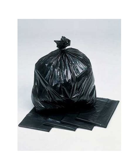 Bin Bag by 200 Heavy Duty Black Bin Bags 190g