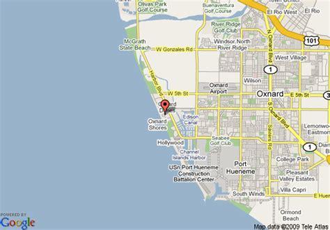 california map oxnard map of channel island shores oxnard