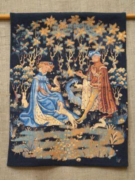 Tapisserie Medievale by Tentures Et Tapisseries M 233 Di 233 Vales La Boutique M 233 Di 233 Vale