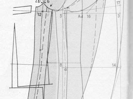 pattern drafting armhole drafting the sleeve head according to the armhole