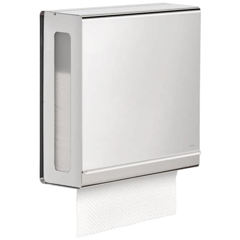 C Fold Paper Towel Holder - stainless steel paper towel dispenser