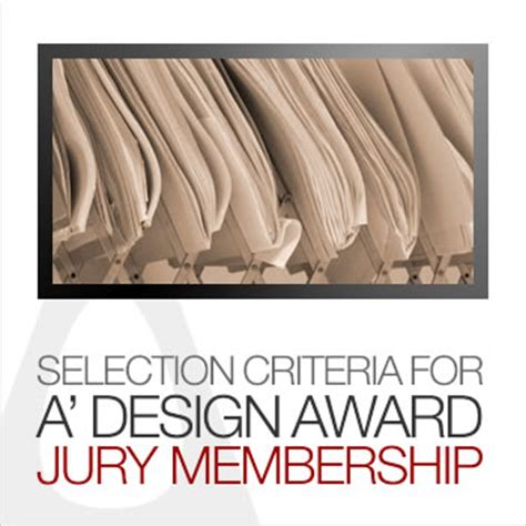 design competition jury a design award and competition jury selection