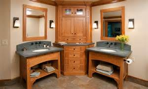 style bathroom cabinets mullet cabinet arts crafts bathroom