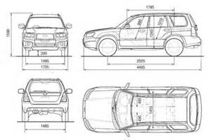 Subaru Forester Height Subaru Forester Dimensions