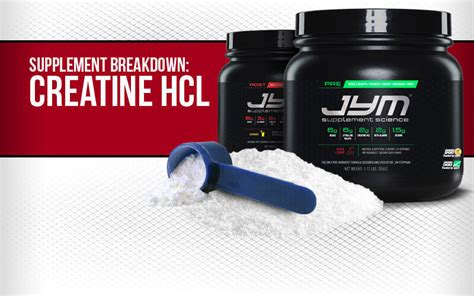 i don t take creatine don t just take creatine take creatine hcl