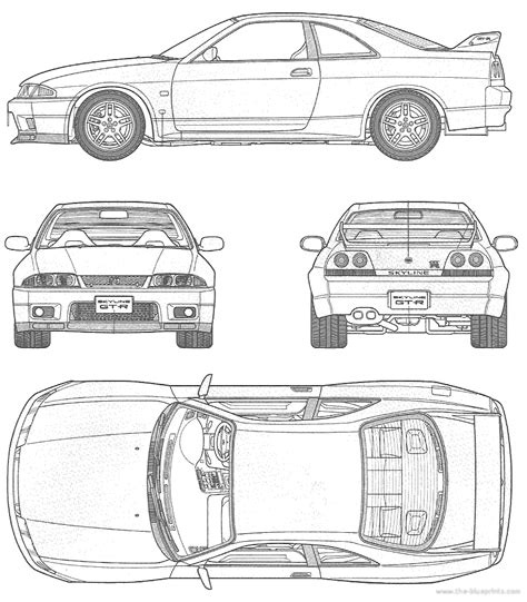nissan skyline drawing outline nissan skyline drawing outline www pixshark com images