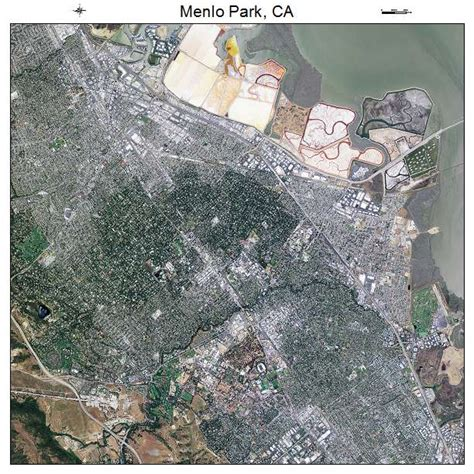menlo park california map aerial photography map of menlo park ca california