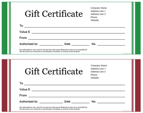 publisher templates for gift certificates microsoft office gift certificate templates 28 images
