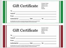 Get a Free Gift Certificate Template for Microsoft Office Office Templates Employee Information