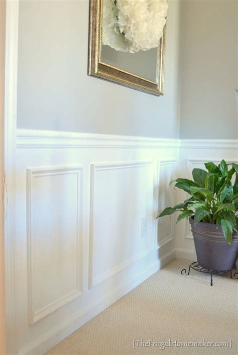 House Tour Dining Room Gray Walls White Wainscoting