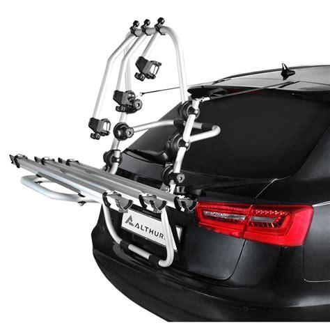 porta bici x auto portabici posteriore althura in alluminio per 3 bici