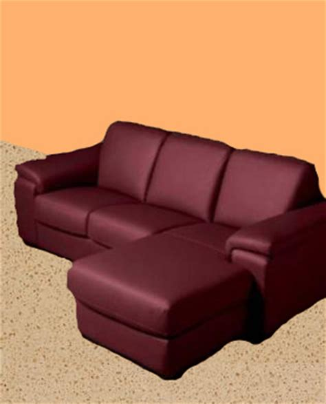 Image Gallery Leather Burgundy Color