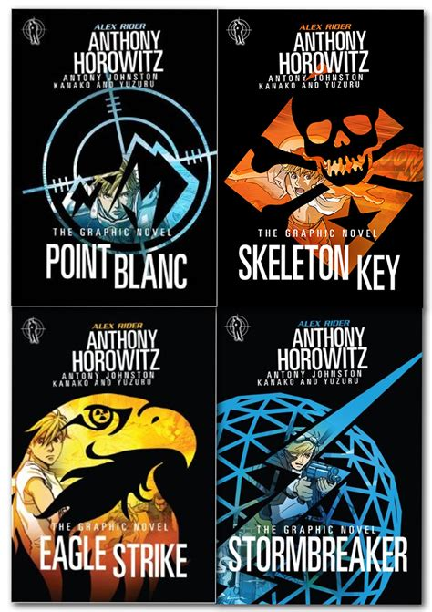 Eagle Strike Graphic Novel alex rider graphic novels 4 book collection set anthony