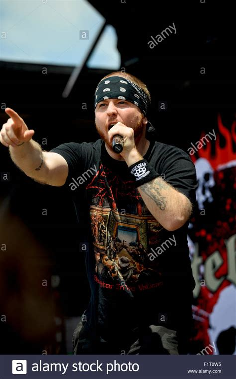 Hatebreed Band Musik jamey jasta of the band quot hatebreed quot performing st the 2015