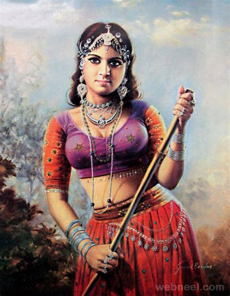 indian painting 50 most beautiful indian paintings from top indian artists