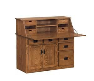 Amish Bathroom Vanities Amish Large Arts And Crafts Secretary Desk