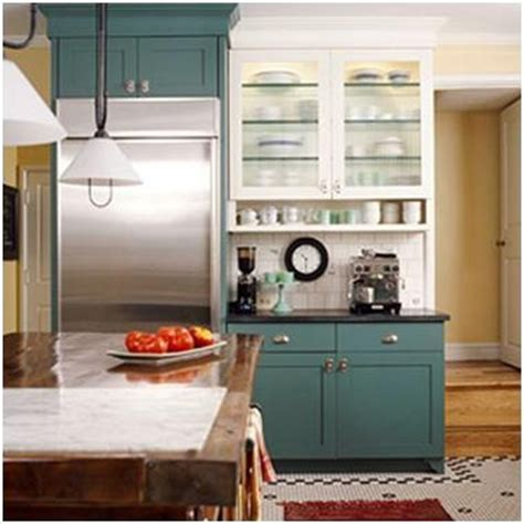 Kitchen Cabinets Two Different Colors Kitchens Where The And Lower Cabinets Are Two Different Colors Cabinets Kitchens
