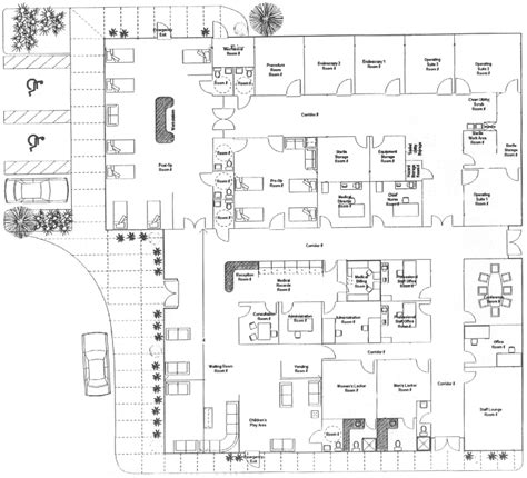 ambulatory surgery center floor plans cimed international healthcare