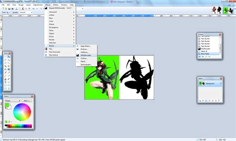 user citizena paint net silhouette plugin monstergirlquest wiki fandom powered by wikia