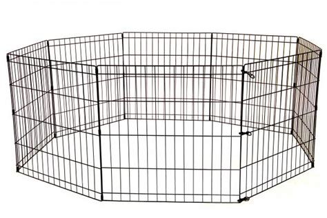puppy play pen 24 30 36 42 48 playpen crate fence pet play pen exercise cage 8 panel ebay
