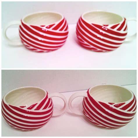 Starbucks Cocoa Pepermint starbucks mug peppermint stripe