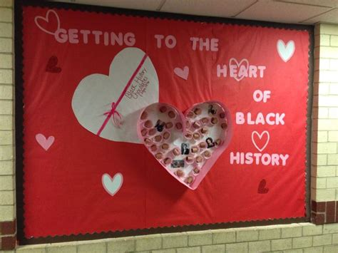 black history valentines day feb 22nd black history bulletin board check