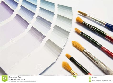 color picker with brush royalty free stock photos image 21158468