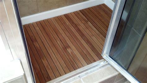 Teak Tiles Bathroom   Tile Design Ideas