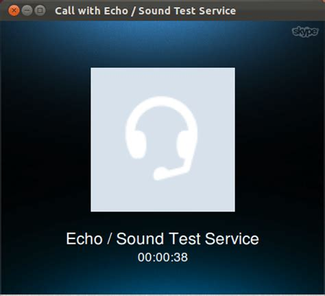 how can i make a test call in skype