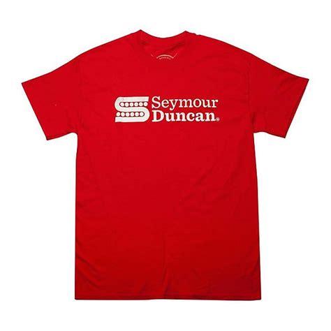 Seymour Duncan T Shirt seymour duncan s logo t shirt medium reverb