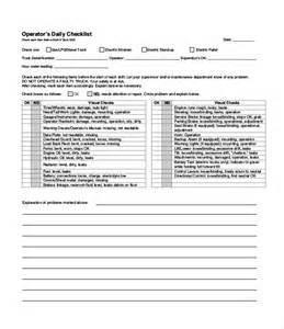 pdf checklist template daily checklist template 22 free word excel pdf
