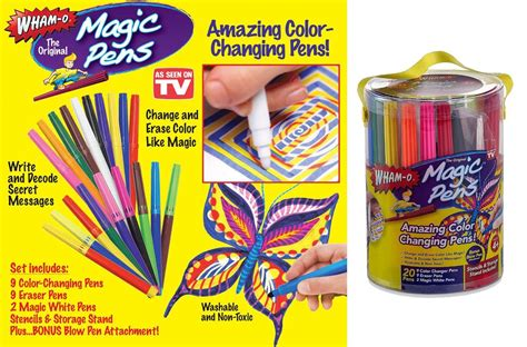 pen that changes color magic pens color changing markers wham o as seen on tv