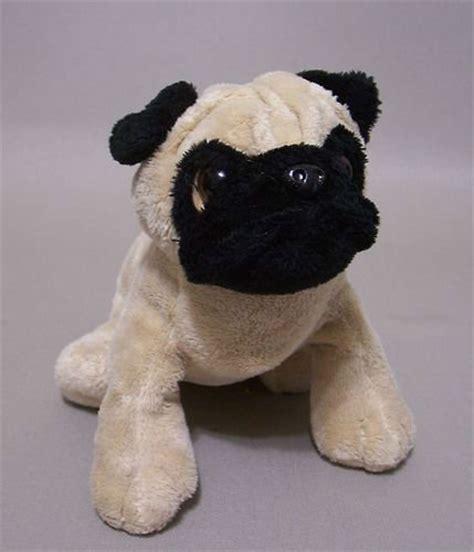 ganz pug pug perro ganz webkinz juguete relleno felpa animal animales de peluche y felpa