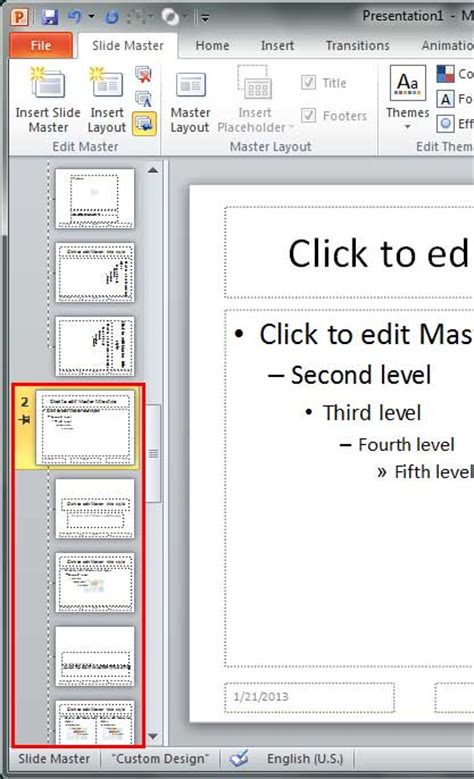 add new slides in powerpoint 2010 add and rename slide masters in powerpoint 2010 for windows