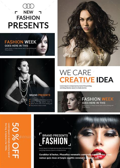 fashion design agency 15 agency flyers design trends premium psd vector
