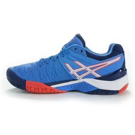 asics resolution 6 womens tennis shoe