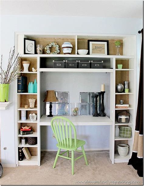 bookshelves ikea and desks on