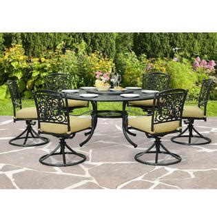 sunjoy roxanne 8pc patio set outdoor living patio furniture dining sets