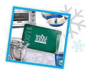 Whole Foods Digital Gift Card - win a 1 000 whole foods gift card kitchenaid mixer more myfreeproductsles com