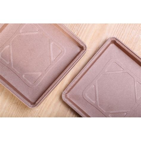 Paper Mold - paper pie molds square 17 cm weekend bakery