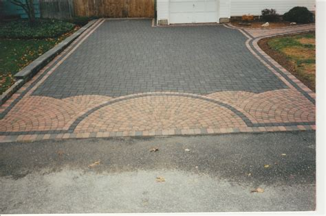Concrete Patio With Pavers Pavers Concrete Porch