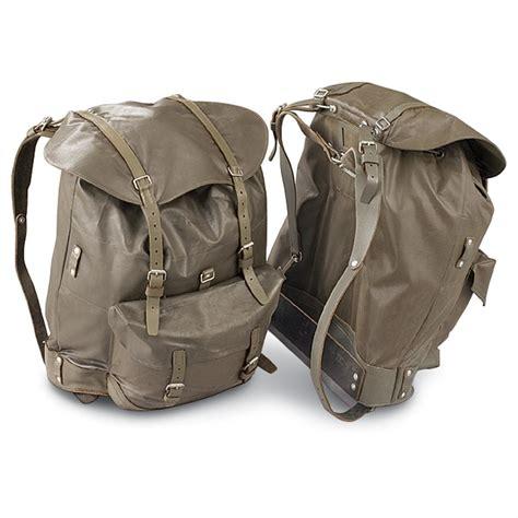 ruck sacks 3 used swiss rucksacks olive drab 167839 rucksacks backpacks at sportsman s guide