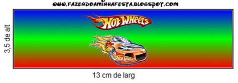 Hot Wheels Party: Free Printable Candy Bar Labels.   Oh My Fiesta! in english