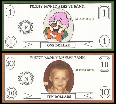 printable funny fake money 7 best images of printable funny money printable money