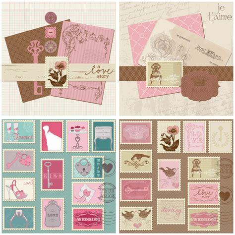 Vintage Gift Card - 結婚式の招待状に ヴィンテージなウェディングカードの
