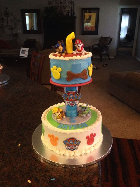 Paw Patrol Cake Tower  Ee  Party Ee   Things Paw Patrol  Ee  Birthday Ee